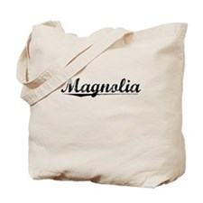 Magnolia, Vintage Tote Bag