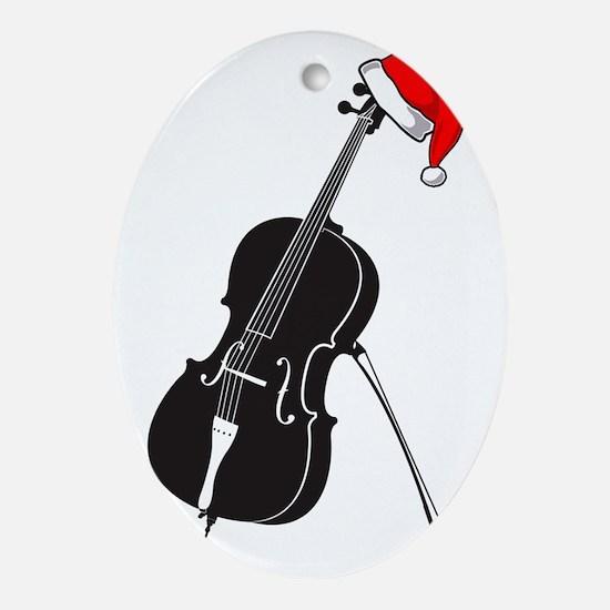 Merry-Christmas-01-a Oval Ornament