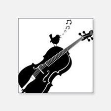 "Songbird-01-a Square Sticker 3"" x 3"""