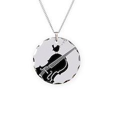Songbird-01-a Necklace Circle Charm