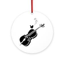 Songbird-01-a Round Ornament
