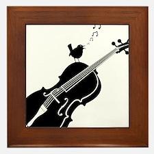 Songbird-01-a Framed Tile
