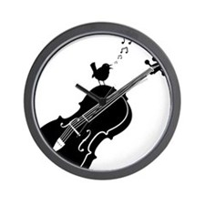 Songbird-01-a Wall Clock