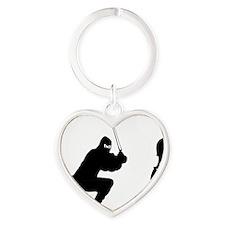 Cello-Ninja-01-a Heart Keychain