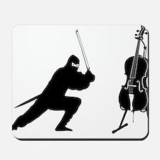 Cello-Ninja-01-a Mousepad