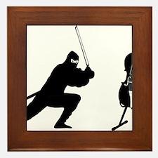 Cello-Ninja-01-a Framed Tile