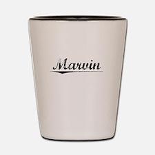 Marvin, Vintage Shot Glass