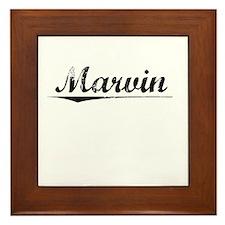 Marvin, Vintage Framed Tile