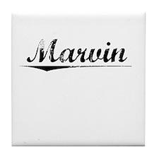 Marvin, Vintage Tile Coaster