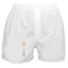 Cote d'Ivoire Boxer Shorts
