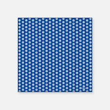 "MogenDavidDuvetQueen Square Sticker 3"" x 3"""
