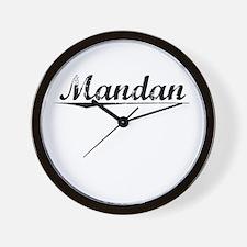 Mandan, Vintage Wall Clock