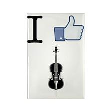 I-Like-Cello-01-a Rectangle Magnet