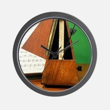 Metronome Wall Clock