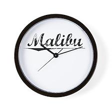 Malibu, Vintage Wall Clock