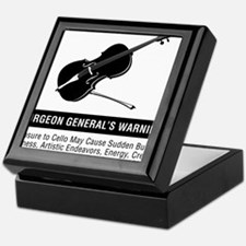 Surgeon-Generals-Warning-01-a Keepsake Box