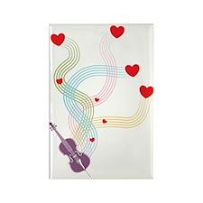 Lovely-Cello Rectangle Magnet