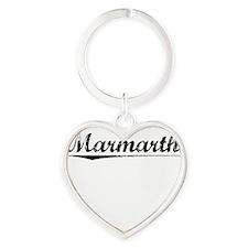 Marmarth, Vintage Heart Keychain
