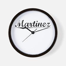 Martinez, Vintage Wall Clock