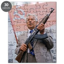 Mikhail Kalashnikov, Russian gun designer Puzzle