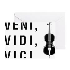 Veni-Vidi-Vici-01-a Greeting Card