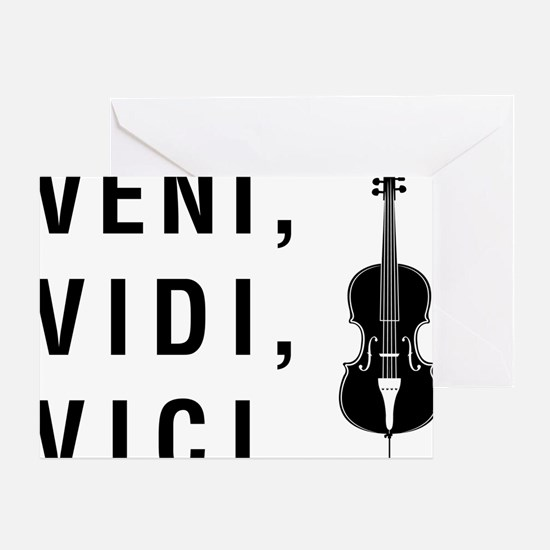 Veni-Vidi-Vici-01-a Greeting Card