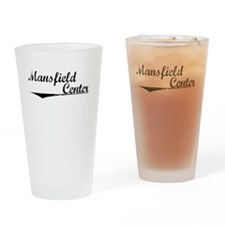 Mansfield Center, Vintage Drinking Glass