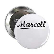 """Marcell, Vintage 2.25"""" Button"""