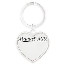 Manuel Mill, Vintage Heart Keychain