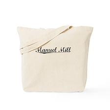 Manuel Mill, Vintage Tote Bag