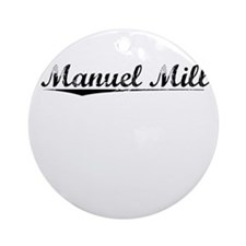 Manuel Mill, Vintage Round Ornament