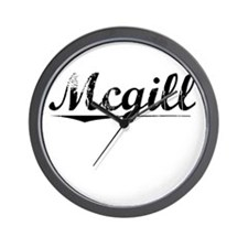 Mcgill, Vintage Wall Clock