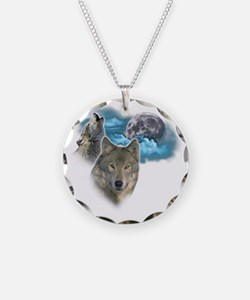 Wolves Moon 2 Necklace