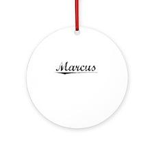 Marcus, Vintage Round Ornament