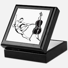 Cello-Player-x-01-a Keepsake Box