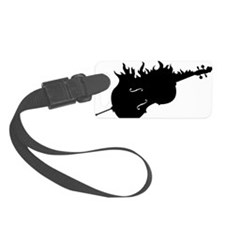 Flamed-Cello-01-a Luggage Tag