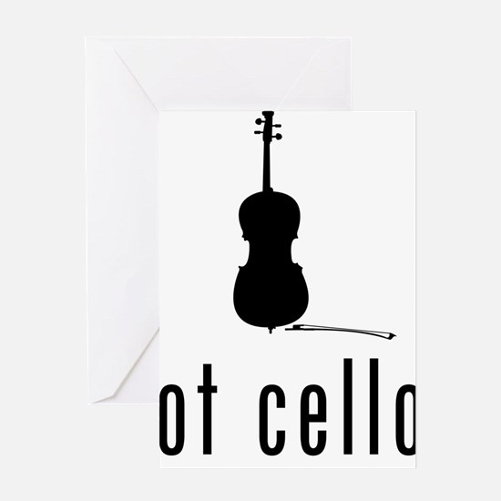 Got-Cello-03-a Greeting Card