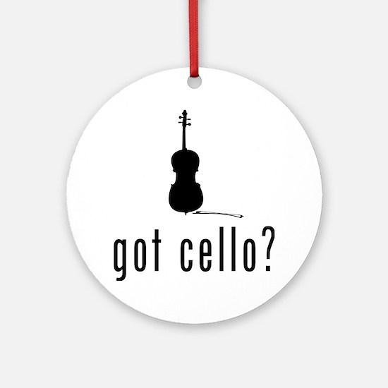 Got-Cello-03-a Round Ornament