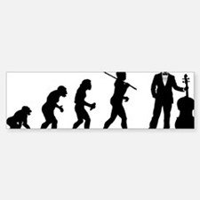 Evolution-Man-03-a Bumper Bumper Sticker