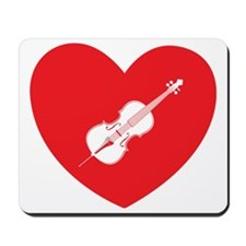 Heart-Cello-01-b Mousepad