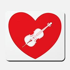 Heart-Cello-01-b Mousepad