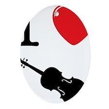 I-Heart-Cello-03-a Oval Ornament