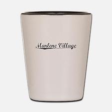 Marlene Village, Vintage Shot Glass