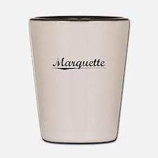 Marquette, Vintage Shot Glass