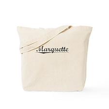 Marquette, Vintage Tote Bag