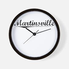 Martinsville, Vintage Wall Clock