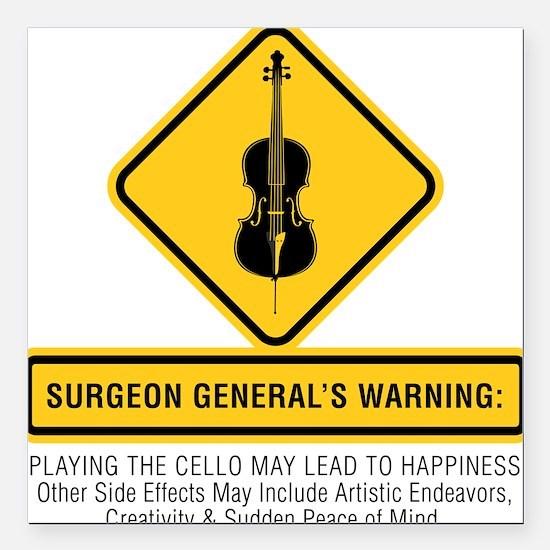 "Surgeon-General-02-a Square Car Magnet 3"" x 3"""