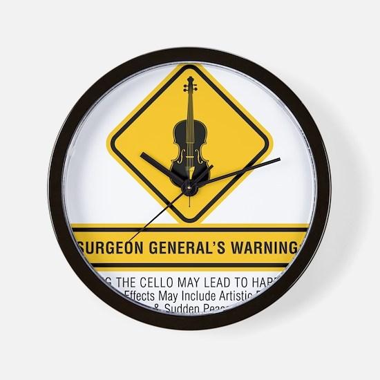 Surgeon-General-02-a Wall Clock