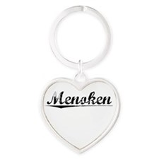Menoken, Vintage Heart Keychain