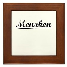 Menoken, Vintage Framed Tile